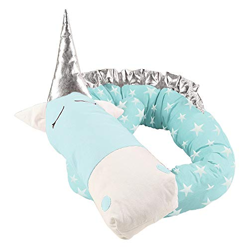 i-baby Nestchen 3D Cartoon Animal Head Guard Bumper Kinderzimmer Betten Bumper Innen Schutz für Kinderbett - 6