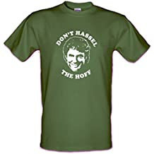 Don't HASSEL the HOFF David Hasselhoff Knightrider Baywatch Heavy Cotton t-shirt All Sizes S-XXL