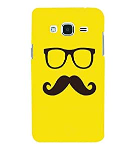For Samsung Galaxy J3 (6) 2016 :: Samsung Galaxy J3 2016 Duos :: Samsung Galaxy J3 2016 J320F J320A J320P J3109 J320M J320Y Cartoon, Black, Cartoon and Animation, Printed Designer Back Case Cover By CHAPLOOS