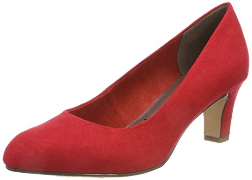 Tamaris Damen 22418 Pumps, Rot, 39 EU