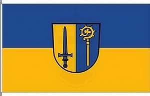Königsbanner Hissflagge Göggingen - 150 x 250cm - Flagge und Fahne