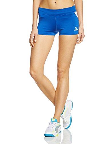 Erima Damen Shorts Hot Pant, New Royal/Weiß, 38, 829409