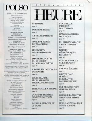 international-heure-magazine-n-2-du-01-11-1991-les-secrets-de-gerald-genta-jaeger-lecoultre-ou-le-se