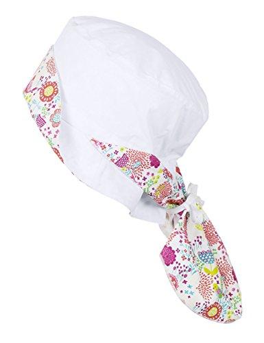 Sterntaler Hut M. Nackenschutz - Bonnet - Fille Blanc (500)