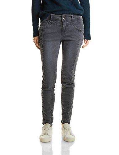 Street One Damen Slim Jeans 370911 Rob, Grau (Neo Grey Authentic Wash 11129), W27/L32 (Graue Hose)