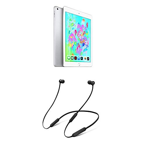 Apple iPad (Wi-Fi + Cellular, 32GB) - Argento + BeatsX Auricolari - Nero
