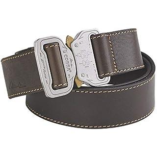 AustriAlpin Leather Belt COBRA® (38mm), Farbe:braun/poliert;AustriAlpinGroesse:L (110cm)