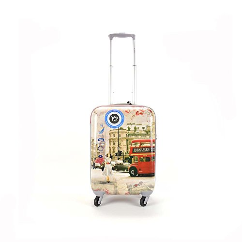 TROLLEY YNOT YES LUGGAGE CABIN SIZE SPINNER J-1001 LONDRA