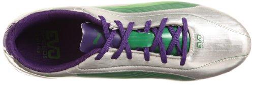 Puma  evoSPEED 5 FG, Chaussures de football homme Argent - Silber (puma silver-team green 03)