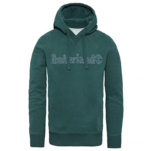 TIMBERLAND - Hoodie TAYLOR RIVER A1RKZ - green (370) Green (370)