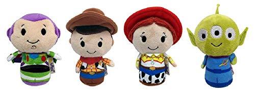 sent2u Toy Story Itty Bitty Woody, Buzz, Jessie, Alien Set of 4 Soft Toy