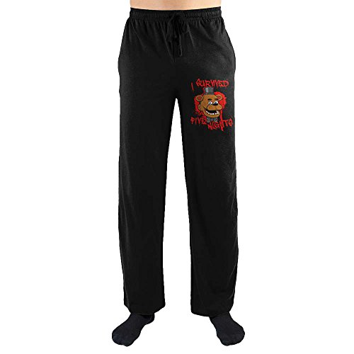 "Five Nights at Freddy's ""I Survived"" Men's Lounge Pants: XX-Large"