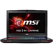 """MSI Dominator GT72S 6QD-085ES - Portátil de 17.3"""" FullHD (Intel Core i7-6820HK, 16 GB de RAM DDR4, Disco duro de 1 TB + 256 GB SSD, NVIDIA GTX 970M de 3 GB, Windows 10) negro - teclado QWERTY Español"""