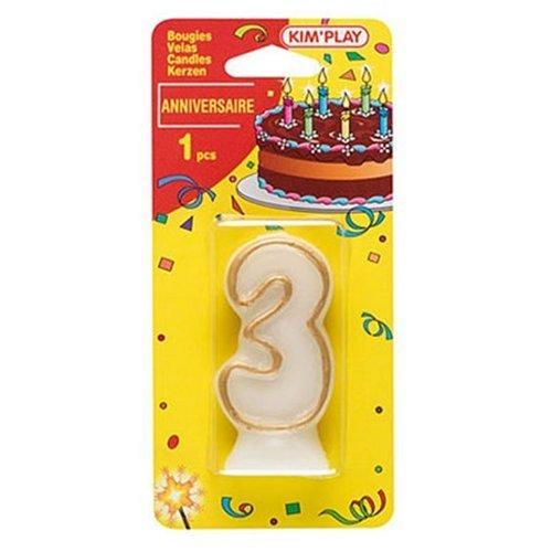 Toy Partner - COU603 - Cake Decoration - Figura 3 Velas