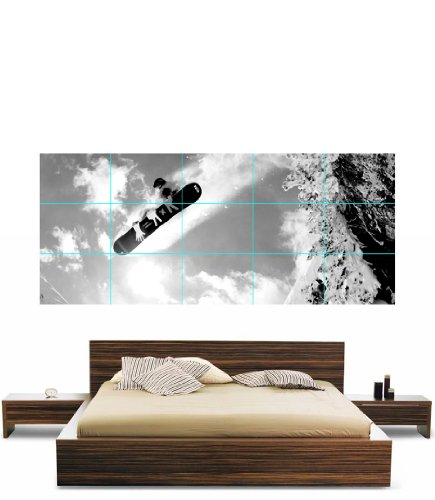 SNOWBOARDING WINTER SPORTS BIG AIR GIANT POSTER PRINT XXXL NC5462