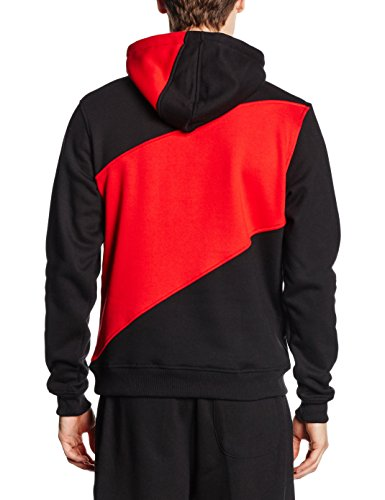 Urban Classics - Sweat-Shirt À Capuche - Manches Longues Homme - blk/red/cha
