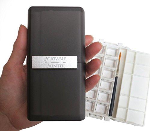 Portable Painter Pocket Travel Box (Tray 12 Paint)