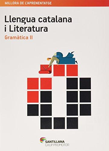 QUADERN LLENGUA CATALANA I LITERATURA GRAMATICA II ESO - 9788490477243