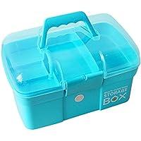 OviTop Medizinbox Abschließbar mit Getrennten Fächer Medikamentenbox Aufbewahrungsbox mit Griff für Küche Schlafzimmer preisvergleich bei billige-tabletten.eu