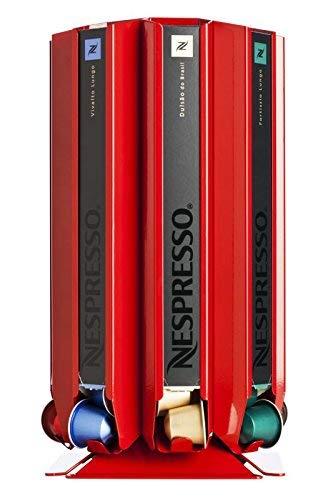 Distributore di capsule, Porta scatole per capsule Nespresso Döring CoffeeTower Box N80 rosso