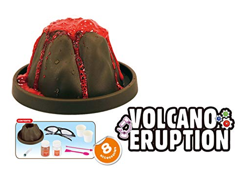 Popsugar Volcano Eruption DIY Science Kit for Kids | Learn About Volcano Eruption, Multicolor