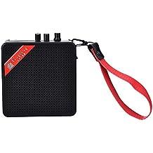 Mini Altavoz De Guitarra Mini Altavoz Portátil Al Aire Libre Para Ukelele Con Bluetooth Amplificador De