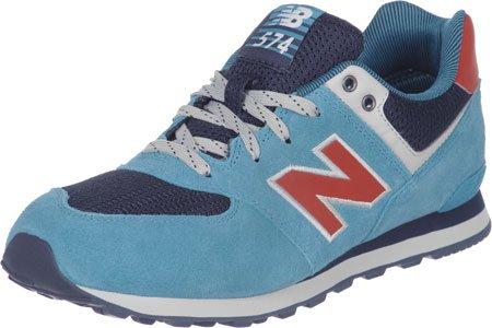 New Balance - Kl574, Sneakers per bambine e ragazze - blau - rot