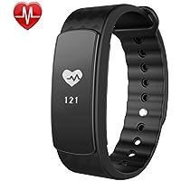 Montre Connectée,Willful SW332 Bracelet Connecté Montre Fitness Tracker d'Activité Bracelet Sport avec Cardiofréquencemètre,Sommeil,Podomètre,Calories,Rappel d'SMS pour iPhone Android Femme Homme