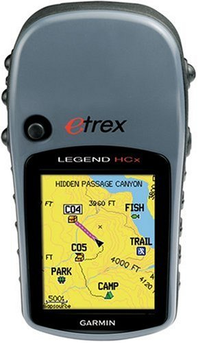 Garmin eTrex Legend HCx Portable Navigator GPS Navigator (2Zoll) Garmin Etrex Legend Gps-system