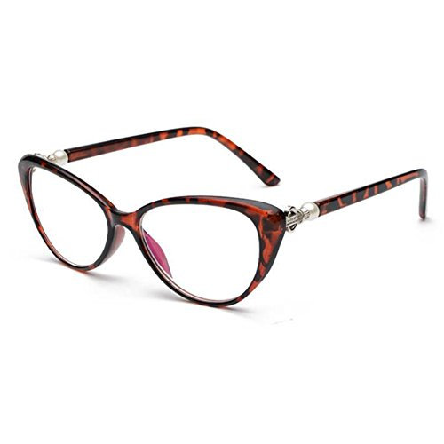 Meijunter Cat Eye Vintage-Mode Lesebrille Frauen Cateyes Schildpatt Brillen +2.5(zk111)