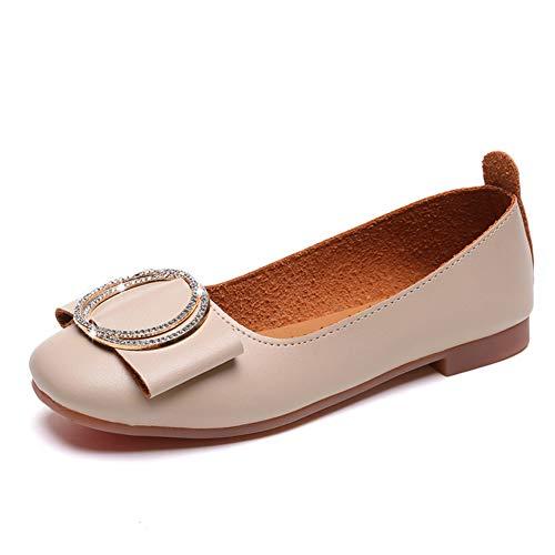 Chaussures De Sport Féminin Printemps Et Automne Boucle en Métal Casual Shoes