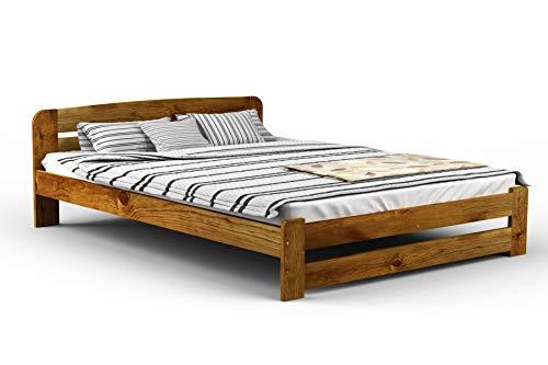 One23 - Telaio letto, vari colori: rovere, noce, ontano, pino ...