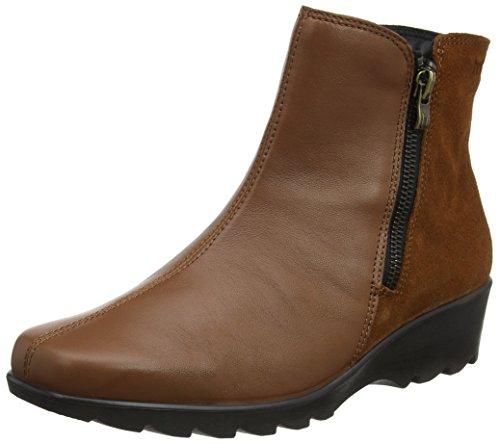 Hotter Women Esther Biker Boots, Brown (Tan), 5 UK 38 EU
