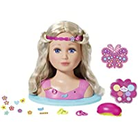 """Zapf Creation 824788"""" Baby Born Sister Styling Head Puppe, bunt"""