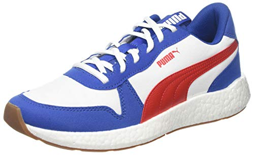 PUMA NRGY Neko Retro, Zapatillas de Running para Hombre, Galaxy Blue-High Risk Red, 43 EU
