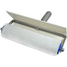 Stachelwalze - Igelwalze - Entlüfterrolle - mit Spritzschutz b= 250mm, l (Stachel) = 11mm