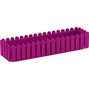 emsa 508696 blumenkasten landhaus uv best ndig frostfest made in germany pink 74 x 20 x 16. Black Bedroom Furniture Sets. Home Design Ideas