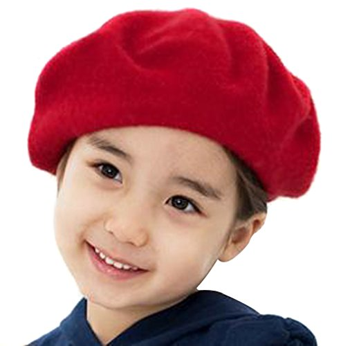 TININNA Beret Basques Chapeau Bonnet Calotte Feutre Laine Artiste Francais Hiver Chaud Hat Cap