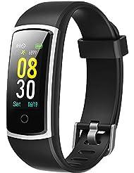 YAMAY Smartwatch Orologio Fitness Tracker Pressione Sanguigna Uomo Donna Cardiofrequenzimetro da Polso IP68 Smart Watch Android iOS Contapassi Smartband Activity Tracker per Xiaomi Samsung Huawei