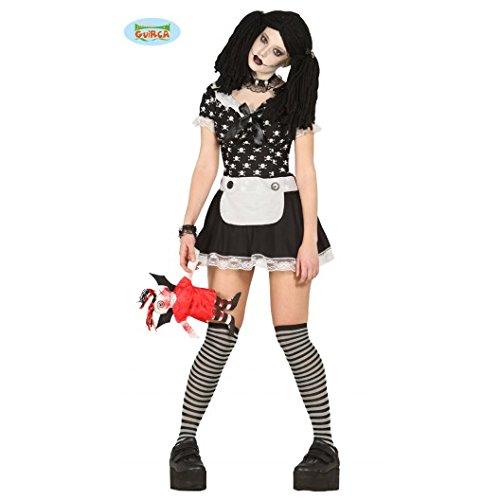 Imagen de disfraz de muñeca diabólica adulta