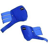 D DOLITY 2 Pcs de Botas Soporte de Nylón Materiales de Hipicá Equitación Multiusos Gancho Clip de Transpirable - azul