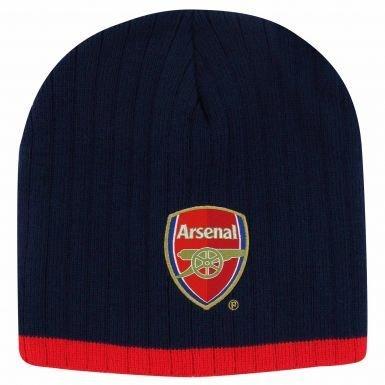 Arsenal FC Crest Beanie Hat - Arsenal-fußball-hut Fc