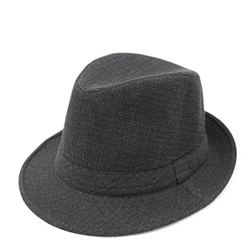 Hat Männer/ Frühlings-Hut/Kopfbedeckungen für Männer/Winter-Jazzhut bei älteren Patienten/ Sommer alter Hut/Papa-Cap/ Opa-Hut-A One Size