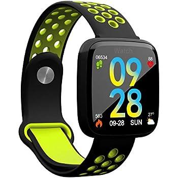TDOR Smartwatch Hombre Android GPS Reloj Deportivo Anillos ...