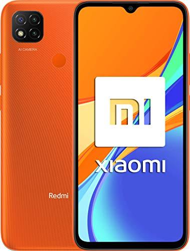 """Oferta de Xiaomi Redmi 9C NFC-Smartphone de 6.53"""" (3GB+64GB, Triple cámara trasera 13MP, MediaTek Helio G35, Batería de 5000 mAh, 10 W de carga rápida), Naranja [Versión ES/PT]"""