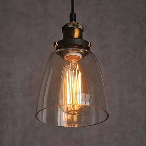glass-shade-new-ceiling-chandelier-fitting-vintage-retro-pendant-lamp-light-amber-color