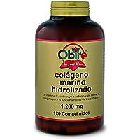 Colágeno marino hidrolizado 1.200 mg. 120 comprimidos con magnesio, ácido hialurónico ...