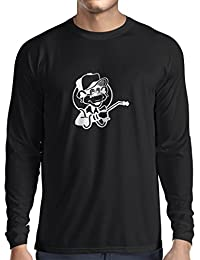 N4055L Camiseta de manga larga Funny Gas monkey