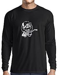 N4055L Camiseta de manga larga Funny Gas monkey