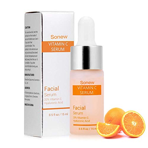 Vitamin C Serum für Gesicht mit Hyaluronsäure entfernen Falten Moisturizie Whitening Skin Care...